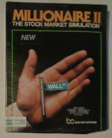MILLIONAIRE II  Stock Market Simulation - Blue Chip Software for IBM - BRAND NEW