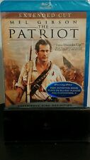 The Patriot (Blu-ray Disc, 2007) - Extended Cut - Mel Gibson - NEW - Free S&H