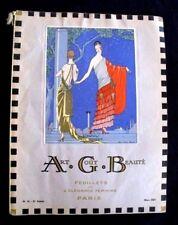 Art Goût Beauté  mars 1923   Revue de mode Art-Déco Feuillets Elegance Féminine