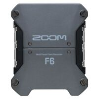 Zoom F6 Multitrack Field Recorder, 32-bit, 6 Inputs