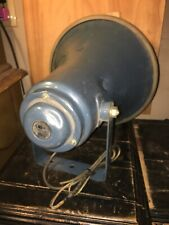 Antique Powerhorn Pa Music Paging Speaker Needs New Cord.
