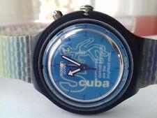 Swatch VINTAGE COLLECTION(1997) SDS-900 Skelet-Eau watch MONTRE NOS SCUBA WR UHR