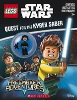 NEW Quest for the Kyber Saber (LEGO Star Wars: Activity Book with Minifigure)