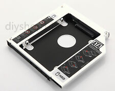 For Dell Vostro 1540 1320 1450 1520 2nd HDD SSD Hard Drive Caddy Adapter Bay