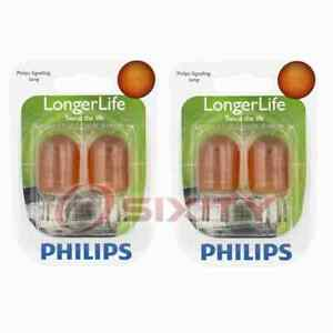 2 pc Philips Front Turn Signal Light Bulbs for Nissan 370Z Altima Armada fd