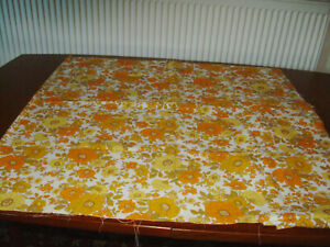 1960's Vintage Cotton Fabric /  Material