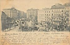 BERLIN GERMANY~POTSDAMER PLATZ~1899 PHOTO POSTCARD