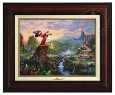 Thomas Kinkade Studios Fantasia Canvas Classic (Burl Frame) Disney