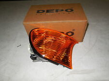 BMW E46 COUPE CONVERTIBLE FRONT LEFT N/S TURN SIGNAL INDICATOR AMBER 63126904299