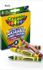 Crayola Ultra Clean Large Crayons -(pack of 8)