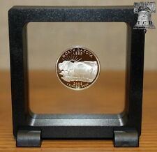 Magic Frame Display Stand 3x3 Floating Bottle Cap Challenge Coin Medals Holder