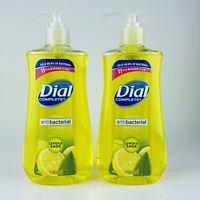 2-Pack Dial Complete Liquid Hand Soap Lemon & Sage Kills Bacteria 11 Fl.oz Each