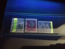 3 Different Used Canada Tagging Error Stamps (Lot #rn131)