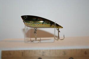 Fishing Lure Topwater Popper Yozuri Style Holographic Perch AA38