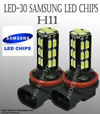 JDM 2 pcs H11 Samsung LED 30 SMD PureWhite 6000K Fog Light Bulbs A46R