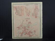 Indiana Maps, 1876 Elkhart, Goshen, Bourbon N2#08