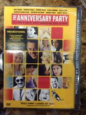 The Anniversary Party (DVD, 2002)NEW-AUTHENTIC US Release
