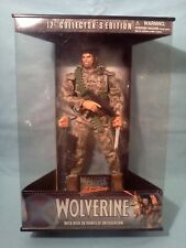 "Marvel Studios - 12"" Collector's Edition Camoflague ""WOLVERINE""  (MISB)"