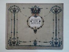Album von Berlin, Bildband im Großformat, Globus Verlag um 1899