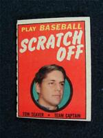 Tom Seaver HOF, New York Mets, 1970 Topps Scratch-Off