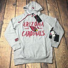 NFL Small Ultra Game Women Arizona Cardinals Hoodie Pullover Sweatshirt Tie Neck