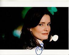 JAMIE ANNE ALLMAN hand-signed STUNNING 8x10 COLOR CLOSEUP PORTRAIT uacc rd coa