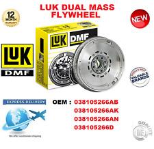 FOR 038105266AB 038105266AK 038105266AN 038105266D LUK DMF DUAL MASS FLYWHEEL