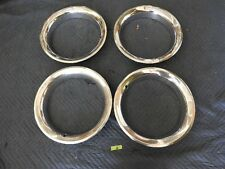ORIGINAL1969-1972 CHEVY GMC BLAZER C-10 4X4 SET OF 4 RALLY TRIM RINGS FOR 15X8