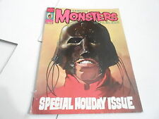 #123 FAMOUS MONSTERS vintage horror magazine HOLIDAY ISSUE