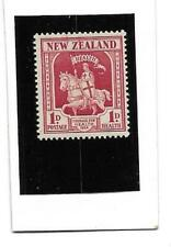 New Zealand, 1934 Crusader Health Issue Mint Very Light Hinged