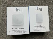 Ring Alarm 2nd Generation Contact Sensor And Motion Detector - BNIB & SEALED!!