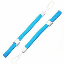 2 X Blue  wrist strap for Nintendo DS DS Lite DSi DSi XL 2DS 3DS 3DS XL
