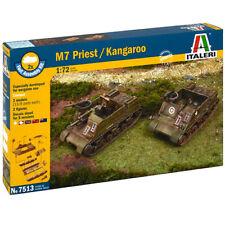 ITALERI M7 Priest 105mm Howitzer Motor 7513 1:72 Model Kit