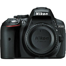 Nikon D5300 Digital SLR Camera Body 24.2MP Black USA