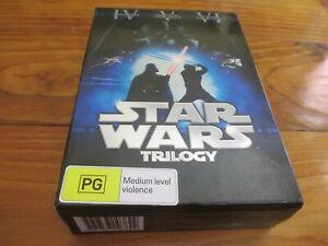 STAR WARS : TRILOGY Limited Edition IV, V, VI ( Total 6-DISC ) - BOX SET DVD
