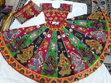 Traditional duptta 2019 Navratri special New kutch work lehnga choli with