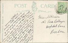 Miss Atkinson. no.1 Rose Cottages, Hospital Lane, Boston. 1907.  RH.337