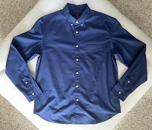 *NWT* J. CREW SLIM STRETCH BUTTON DOWN DRESS SHIRT  SIZE XL  $15.99  RETAIL $55
