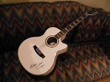 Katherine Jackson(Michael's Mom) Autograph ESP Electric/Acoustic Guitar w COA