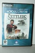 THE SETTLERS HERITAGE OF KINGS USATO OTTIMO PC DVD VERSIONE ITALIANA GD1 39698