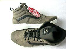 Vans Women's UltraRange Hi Cub Brown Black Marshmallow All Season Boots Size 8