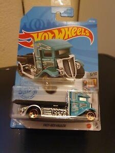Hot Wheels 2021 Fast Bed-Hauler *83/250 HW Metro *5/10 GRX83 Long Card