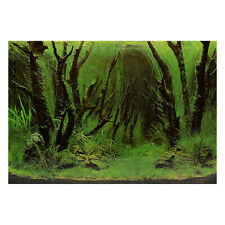 Fish Tank Stone Background Painting Double Sided Fish Tank Landscape Decor IN2