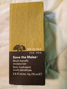 Origins For Men Save The Males Multi Benefit Moisturizer - Size 2.5 Oz. / 75mL