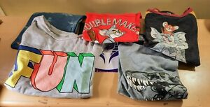 LARGE LOT OF KIDS BOYS TODDLER T-SHIRTS SHIRTS 4T 5T CAT & JACK JUMPING BEANS