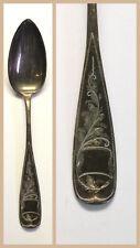 Silberlöffel fein ziseliert um 1890 gepunzt 800 Silber Jugendstil Historismus xz