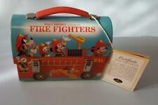 Walt Disney Character FIRE FIGHTERS Small Lunch Box