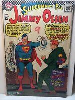 Superman's Pal Jimmy Olsen DC Comic Book No 103, 1967 Murder of Clark Kent, VG+