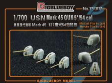 "Bigblueboy PE 1/700 USN Mark 45 GUN 127mm 5""/54 cal 75007"