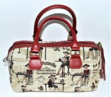 Gobelin Cafe Paris Pariser Damen Signare Bowling Handtasche Tasche